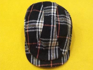 MENS NEWSBOY flatcap adjustable size 52cm