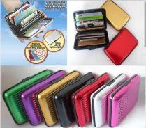 Safety card holder wallet waterproof
