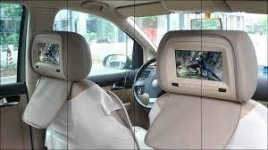 Monitor headrest 7