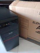 X-five element a5 atx casing red w/ 500w psu