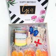 Custom B'day Treat Giftbox