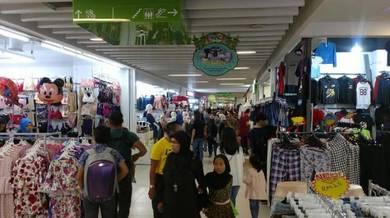 Tenanted Center Court Shop, Kenanga Wholesale City, KWC, Kuala Lumpur