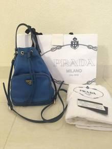 Prada 1NE864 Tessuto Drawstring Bag