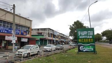 2-Storey Terrace Shop house at Taman Angsana Sari (Facing Main Road)