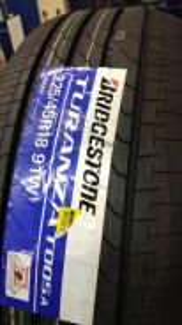 Bridgestone Turanza T005A 225-45-18 225/45/18