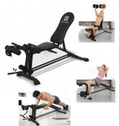 BPS Master Six Power Gym Sit Up Dumbbell Bench 31D