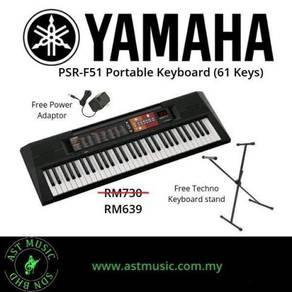 Keyboard Yamaha PSR-F51 f51 F-51 Pack