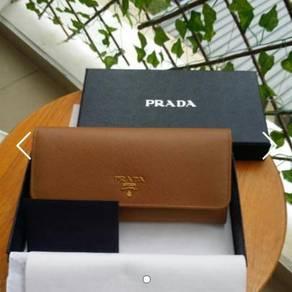 BN Authentic Prada Saffiano Long Wallet