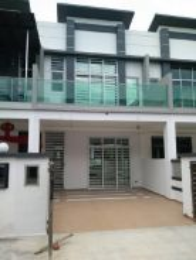 New affordable double storey 20x75 seri pajam Nilai