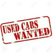 Used car wanted fast cash