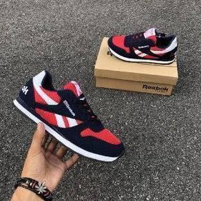 Rebok classic navy red