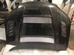 Toyota Hilux Custom Made Carbon Fiber Bonnet Hood