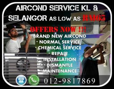 Aircond Sri Petaling TerMurah