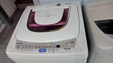 Washer Mesin basuh Washing machine Toshiba 9kg