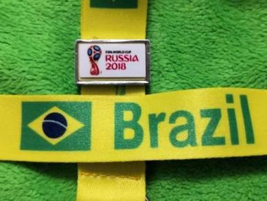 Tali Tag Piala Dunia 2018 - BRAZIL