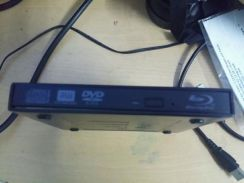 External bluray player