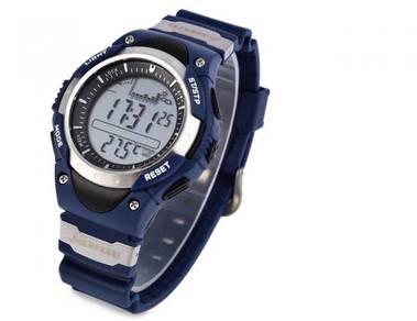 Jam SUNROAD LED Digital Fishing Barometer Watch