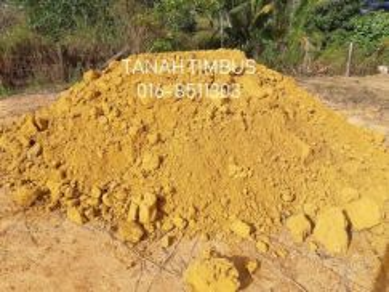 Garden Black Topsoil Stone Yellow Soil Tanah