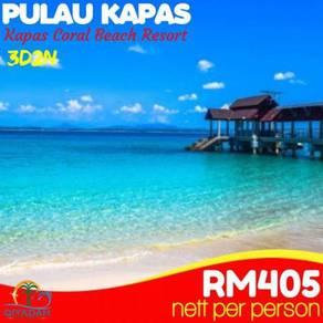 Pulau Kapas - Kapas Coral Beach Resort