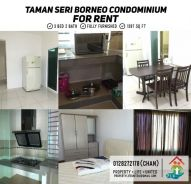 (FOR RENT) Taman Seri Borneo Condominium