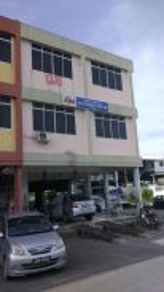 Corner lot shop house for sale