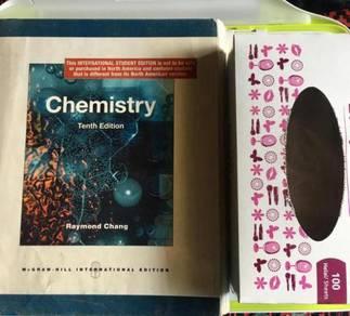 McGraw-Hill Chemistry Tenth Edition preloved