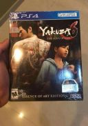 PS4 Game Yakuza 6 Artbook Essence of Art Edition