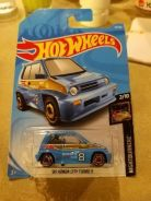 Hotwheels 85 Honda City Turbo II
