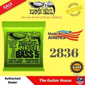 Ernie Ball 2836 5-String Elec Bass Guitar ,45-130