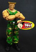 Street Fighter Guile Toy Model