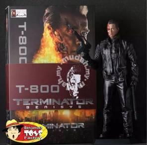 T-800 Terminator Toy Model
