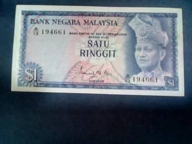 SATU RINGGIT Ismail Mohd.Ali - Prefix A/ EF Siri 1