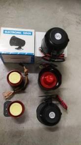 24V 12V Lorry Car alarm siren 20W