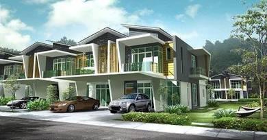 Affordable FreeHold Landed 4R4B Garden-Home 2Storey Ever in Putrajaya