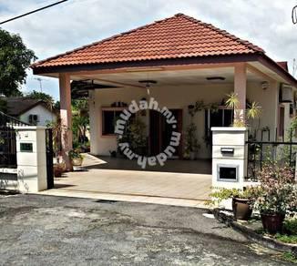 Spacious and functional bungalow (single story detached). Bukit Minyak