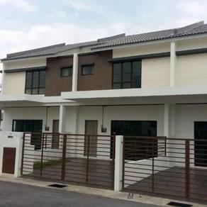 Rumah baru 2tingkat terrace saujana perdana sg buloh