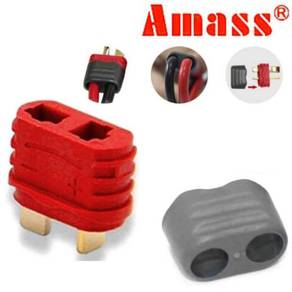 Amass Sheathed T-Plug Dean Female (For Battery)