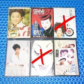 Assorted Female HK-Taiwan Singers Cassettes