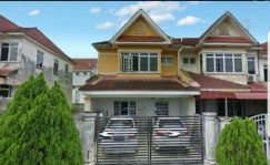 Seri alam flora heights double storey fully renovated for sale masai