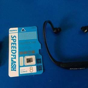 Sport mp3 8gb memory card