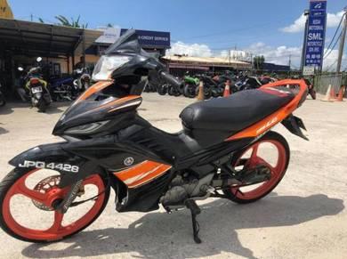 Yamaha 135lc lc with umaracing item free u murah