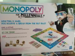 Monopoly Millennials to let go