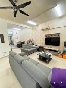 Double Storey Intermediate House Palm View Dato Chellam ,