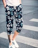 Type 3 - Three Quarters Retro Summer Casual Pants