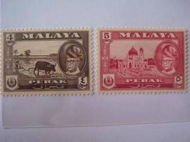 Malaya (Perak) Old Stamps - MLH