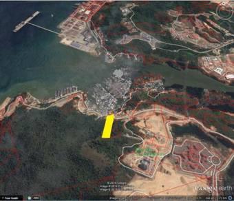 Vacant Land at Kg Numbak overlooking to the Sepanggar Port