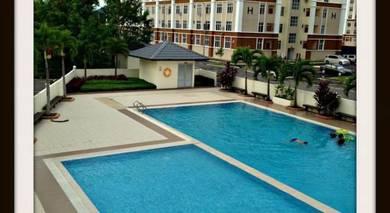 Angkasa Apartment, Menggatal Block C next to multi purpose hall