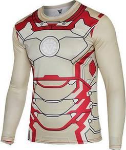Superhero D55 Quick Dry Sport Long Sleeve T-Shirt