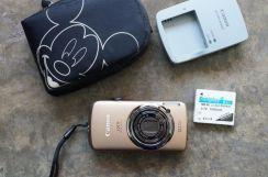 Touchscreen Canon IXUS 200 is IXY Camera Japan