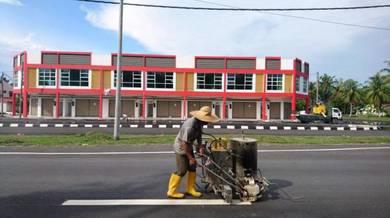 Langkap Teluk Intan Main Road Commercial Shoplot Taman Mawar